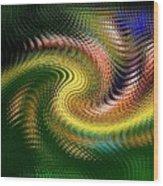 Abstract 47 Wood Print