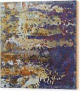 Abstract  4711 Wood Print