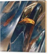 Abstract 490 Wood Print