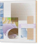 Abstract #503 Wood Print