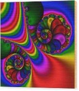 Abstract 504 Wood Print