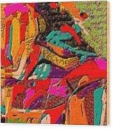 Abstract 508 Wood Print