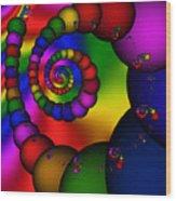 Abstract 521 Wood Print