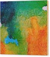Abstract 6 Wood Print