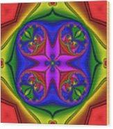 Abstract 602 Wood Print