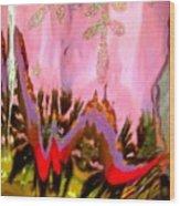 Abstract 6137 Wood Print