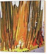 Abstract 6535 Wood Print