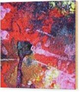 Abstract 6539 Wood Print