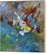 Abstract 66018002 Wood Print
