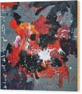 Abstract 6611403 Wood Print