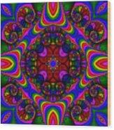 Abstract 667 Wood Print