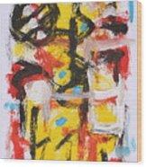 Abstract 6835 Wood Print
