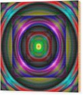 Abstract 705 Wood Print