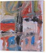 Abstract 7202 Wood Print