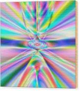 Abstract 723 Wood Print