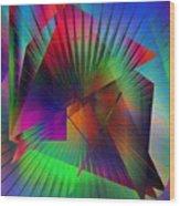 Abstract 7690 Wood Print