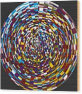 Abstract 814 Wood Print