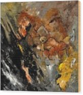 Abstract 8811113 Wood Print