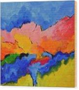 Abstract 88112060 Wood Print