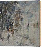 Abstract 8821207 Wood Print