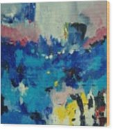 Abstract 889011 Wood Print
