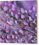 Abstract 91 Digital Oil Painting On Canvas Full Of Texture And Brig Wood Print