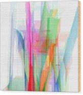 Abstract 9501-001 Wood Print