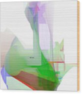 Abstract 9506-001 Wood Print