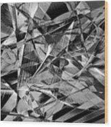 Abstract 9637 Wood Print