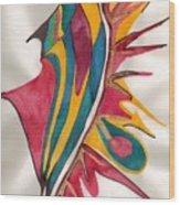 Abstract Art 102 Wood Print