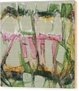 Abstract Art Fifty-six Wood Print