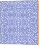 Abstract Art - Lavender Wood Print