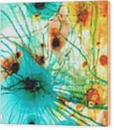 Abstract Art - Possibilities - Sharon Cummings Wood Print