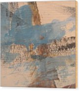 Abstract At Sea 4 Wood Print