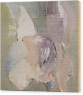 Abstract Aviary Wood Print