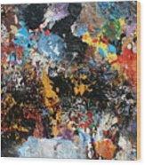 Abstract Blast Wood Print