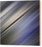Abstract Blurred Blue And Gray Background Wood Print