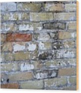 Abstract Brick 10 Wood Print
