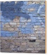 Abstract Brick 3 Wood Print