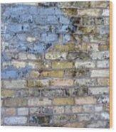 Abstract Brick 6 Wood Print