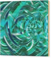 Abstract Brutality The Vortex Wood Print