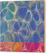 Cells 7 - Abstract Painting Wood Print