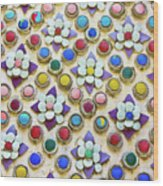 Abstract Ceramic Wall Background Wood Print