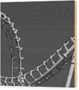 Abstract Coaster Panoramic Wood Print