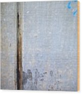 Abstract Concrete 19 Wood Print