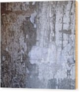Abstract Concrete 8 Wood Print