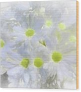Abstract Daisy Boquet Wood Print