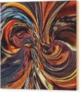 Abstract Delight Wood Print