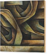 Abstract Design 10 Wood Print