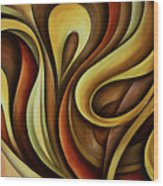 Abstract Design 11 Wood Print